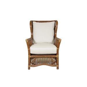 C.S. Wo & Sons Safari IV Wing Chair