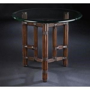 C.S. Wo & Sons Sumatra II Tobacco End Table - Item Number: PKG SUMATRA II - TOBACCO
