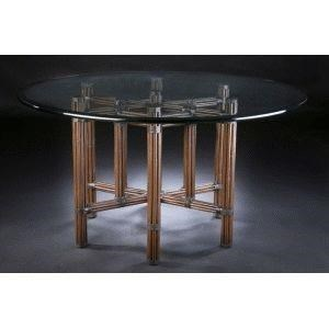 C.S. Wo & Sons Sumatra II Tobacco Dining Table - Item Number: PKG SUMATRA II - TOBACCO