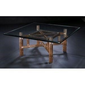 "Sumatra III Sable 48"" Cocktail Table by C.S. Wo & Sons at C. S. Wo & Sons Hawaii"