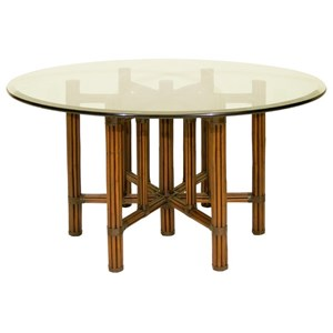 "C.S. Wo & Sons Sumatra III Spice 60"" Dining Table"
