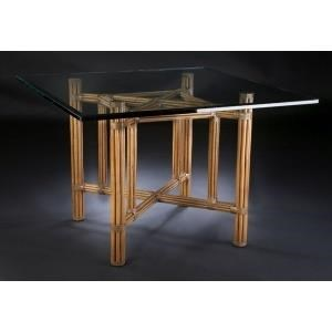 "C.S. Wo & Sons Sumatra III Spice 48"" Dining Table"