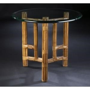 "C.S. Wo & Sons Sumatra III Spice 36"" End Table"