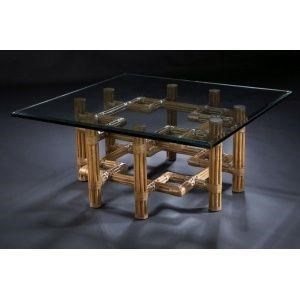"C.S. Wo & Sons Sumatra III Spice 42"" Cocktail Table"