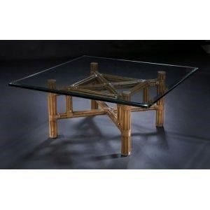 "C.S. Wo & Sons Sumatra III Spice 48"" Cocktail Table"