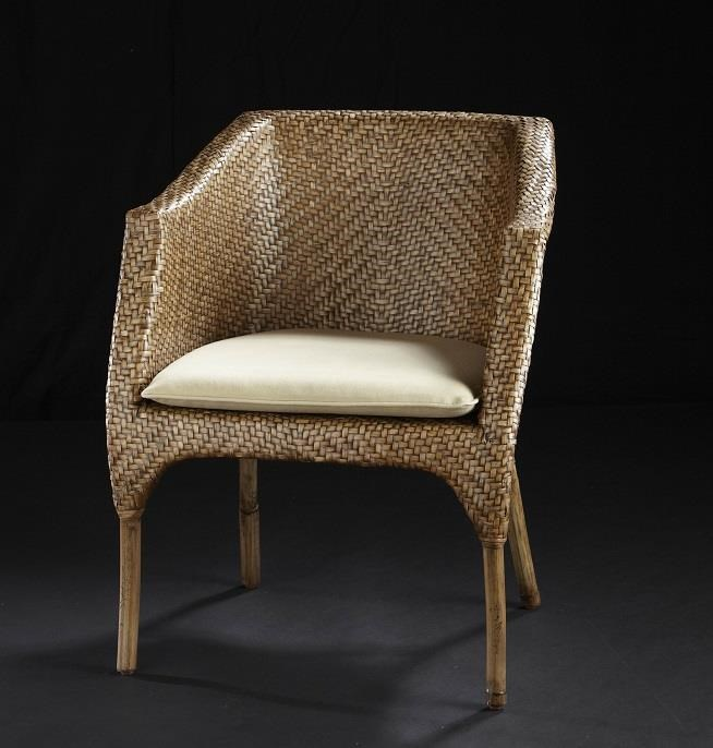 C.S. Wo & Sons Carla II Arm Chair - Item Number: Carla II Arm Chair