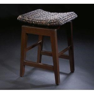 C.S. Wo & Sons Ceylon Counter Stool - Item Number: Ceylon- Abaca