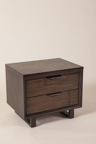 C.S. Wo & Sons Loft 2 Drawer Nightstand - Item Number: Loft Ntstnd