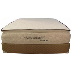 Bed Boss Visco Crown Twin Memory Foam Mattress Set