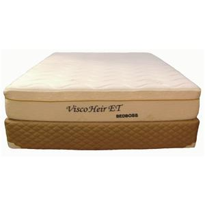 Bed Boss Visco Heir Twin Memory Foam Mattress Set