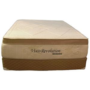 Bed Boss Visco Revolution Twin Memory Foam Mattress Set