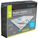 Bedgear Hyper-Cotton Twin 4.0 Hyper-Cotton™ Mattress Protector - Item Number: BGM21AWFT