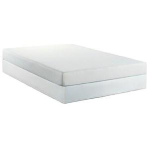 """BedTech Chiro Pedic 7 Queen 7"""" Memory Foam Mattress Set"""