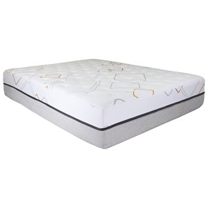 "BedTech Cloud Bliss 14 Queen 14"" Hybrid Mattress Set"