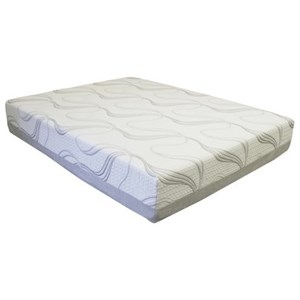 "Twin XL 10"" Gel Memory Foam Mattress"