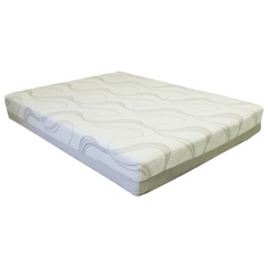 "BedTech Gel Lux 12 Queen 12"" Gel Memory Foam Mattress"