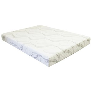 "BedTech Gel Lux 8 Queen 8"" Gel Memory Foam Adj Set"