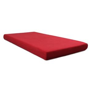 "BedTech Memory Foam Twin 5"" Memory Foam Red Mattress"