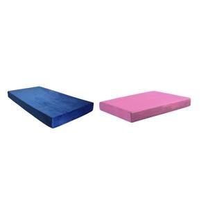 """BedTech Memory Foam 7"""" Memory Foam Blue Mattress"""