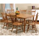 Beechbrook 2040 Solid Beechwood Side Chair - Shown as part of table set