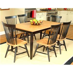 Beechbrook 2040 7-Piece Rectangular Table & Chair Set