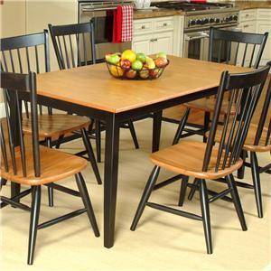 Beechbrook 2040 Rectangular Leg Table with Laminate Top