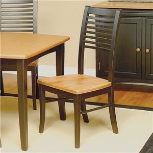Beechbrook 2130 Slat Back Solid Beech Side Chair