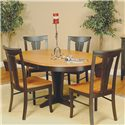 Beechbrook 2130 Solid Beech Side Chair - Shown as part of table set