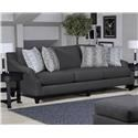 Behold Home 1035 Platinum Sofa - Item Number: 1035-03-1423-10