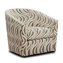 Behold Home Chandler Cream Barrel Accent Chair - Item Number: 560 1505-01