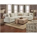 Behold Home Chandler Pebble 2 Piece Sectional - Item Number: GRP-1045-SECTIONAL