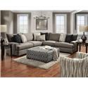 Behold Home Florence Sectional Sofa - Item Number: GRP-1325-SECTIONAL