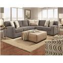 Behold Home 39031 2 Piece Sectional - Item Number: 1045SK1