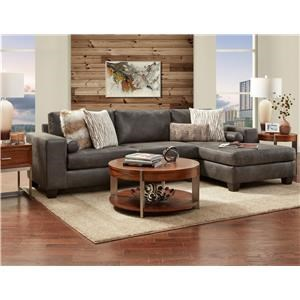 Grey Chaise Sectional