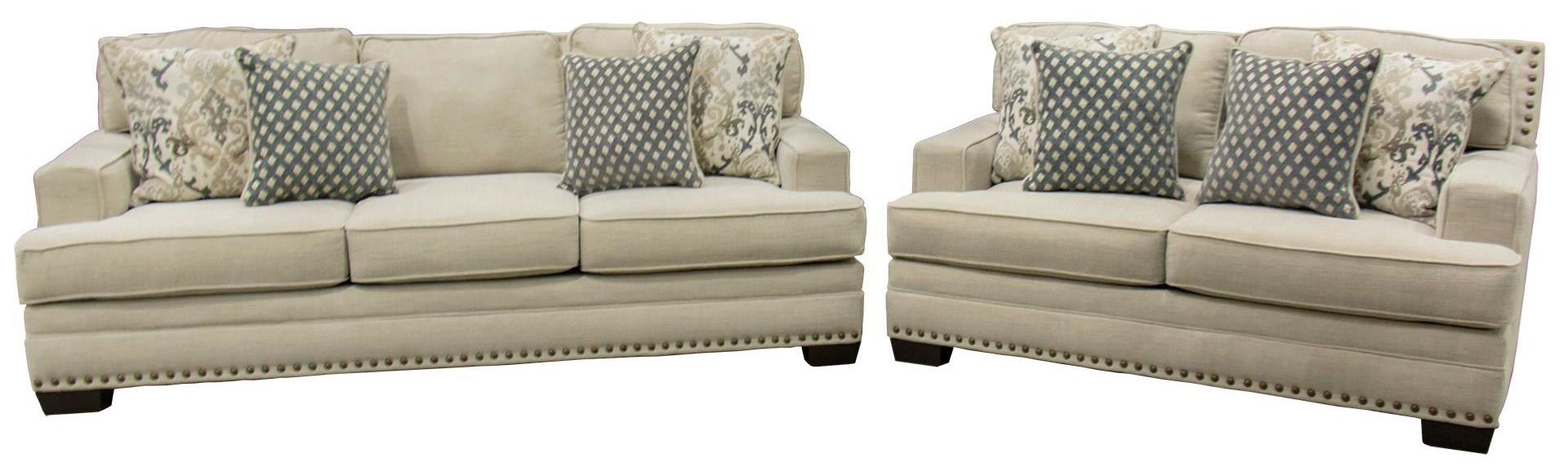 Behold Home Braxton Sofa & Loveseat - Item Number: GRP-1020-SL