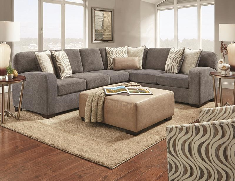 Chandler 2 Piece Sectional by Behold Home at Darvin Furniture
