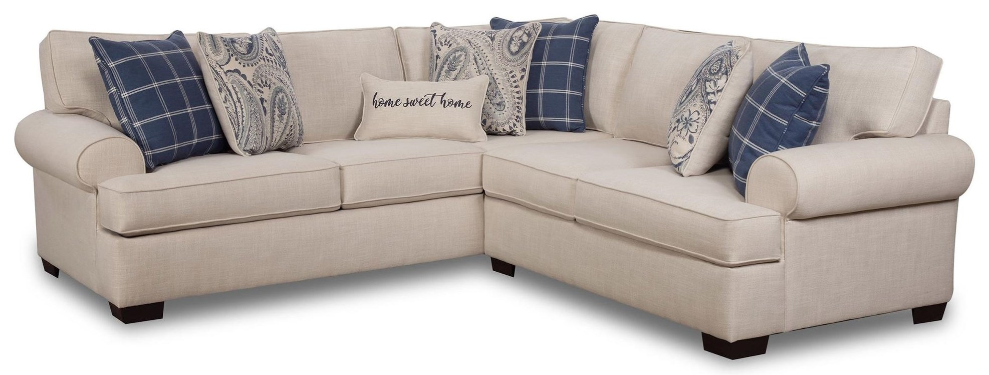 Lynette 2PC Sectional Sofa at Rotmans