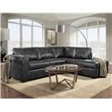 Behold Home Nevada Sectional Sofa - Item Number: BEHOO-GRP-245-2PC