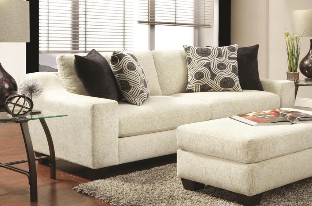 """89"""" Contemporary Sofa"""