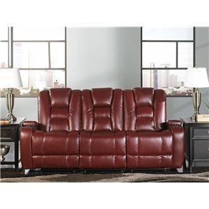 Behold Home 10239-P Ruby Red leather