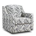 Behold Home Xander Swivel Accent Chair - Item Number: 6825