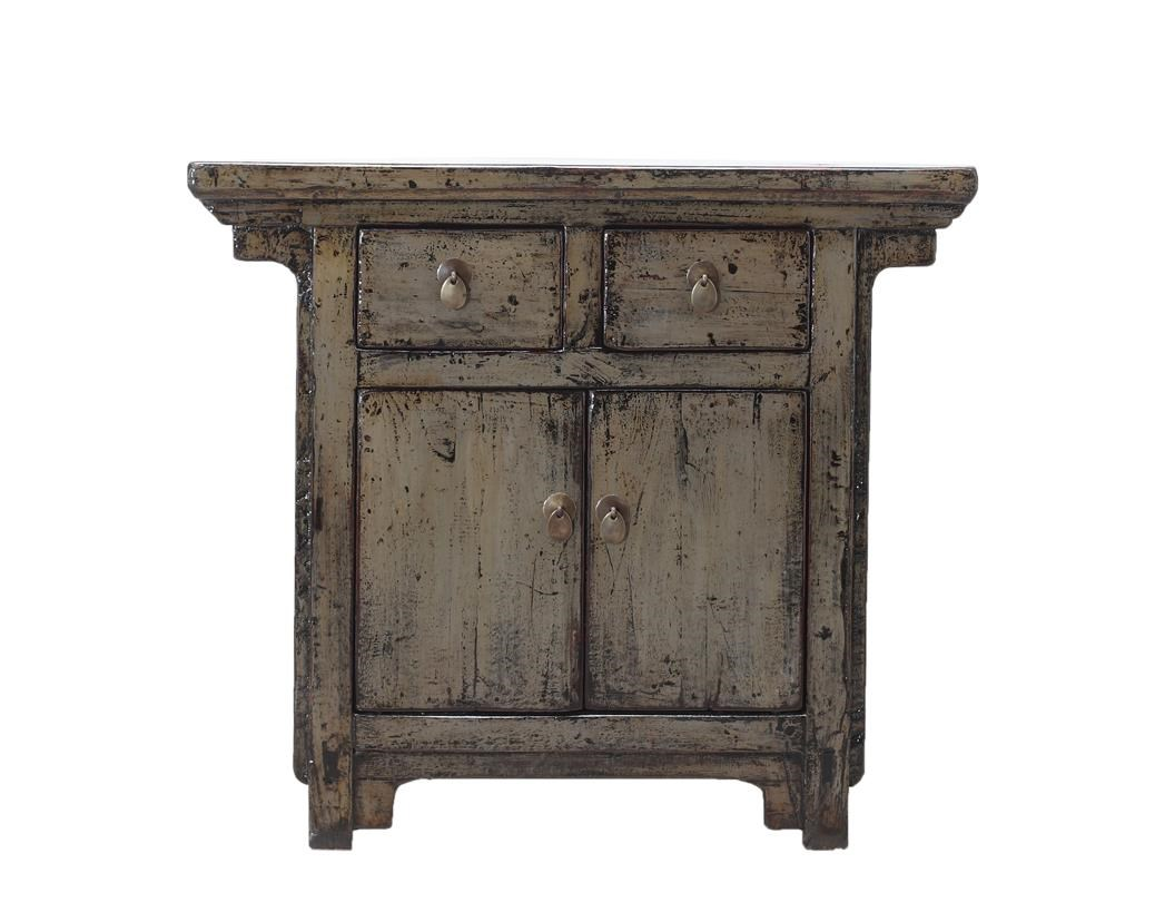 C.S. Wo & Sons Antiques 2 Door Cabinet - Item Number: TA-2697