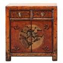 C.S. Wo & Sons Antiques 5 Door Cabinet - Item Number: TA-3516AB