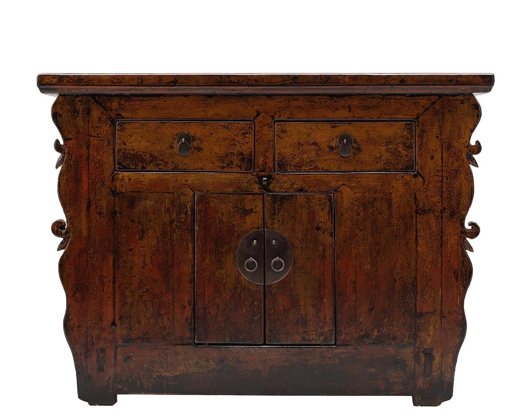 C.S. Wo & Sons Antiques 2 Door Cabinet - Item Number: TA13-1505