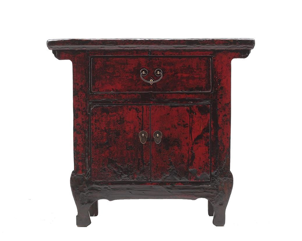 C.S. Wo & Sons Antiques Bedside Cabinet - Item Number: TA13-2823Z