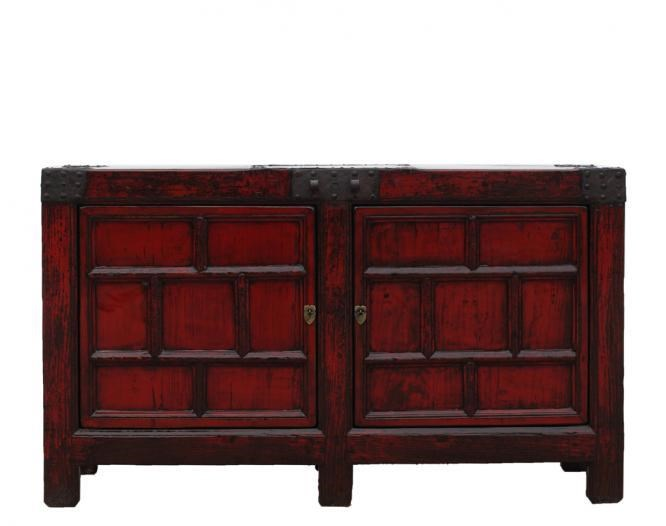 Antiques 2 Door Cabinet by C.S. Wo & Sons at C. S. Wo & Sons Hawaii