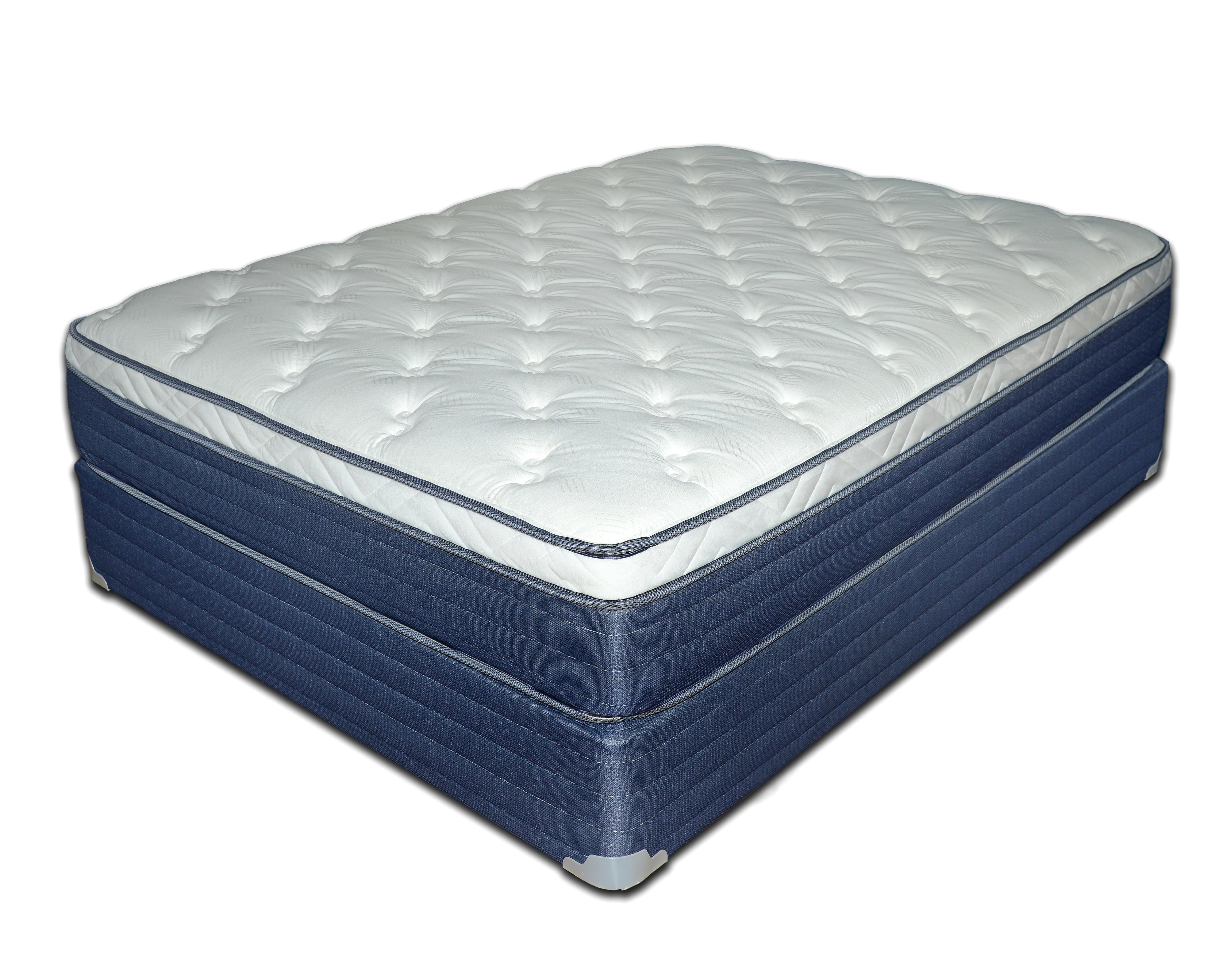 "Queen 12 1/2"" Euro Top Mattress Set"
