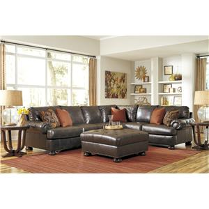 Benchcraft 3160 3pc Sectional