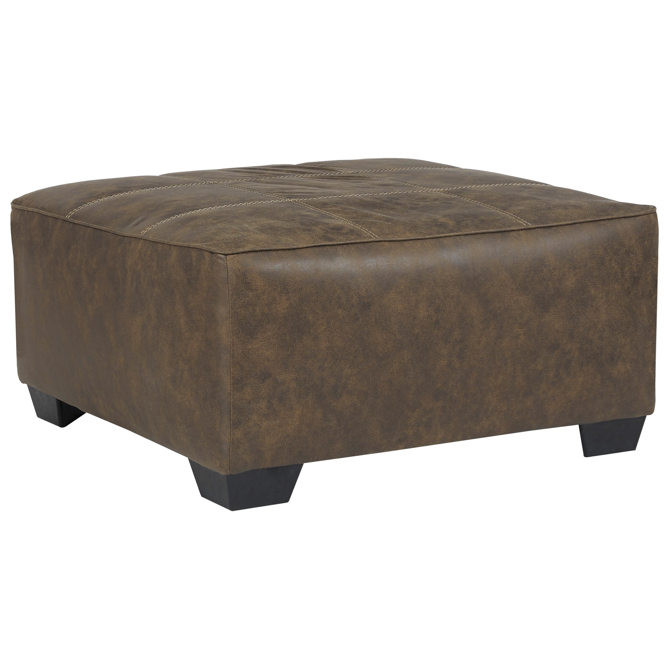 Abalone Oversized Accent Ottoman by Benchcraft at Beds N Stuff