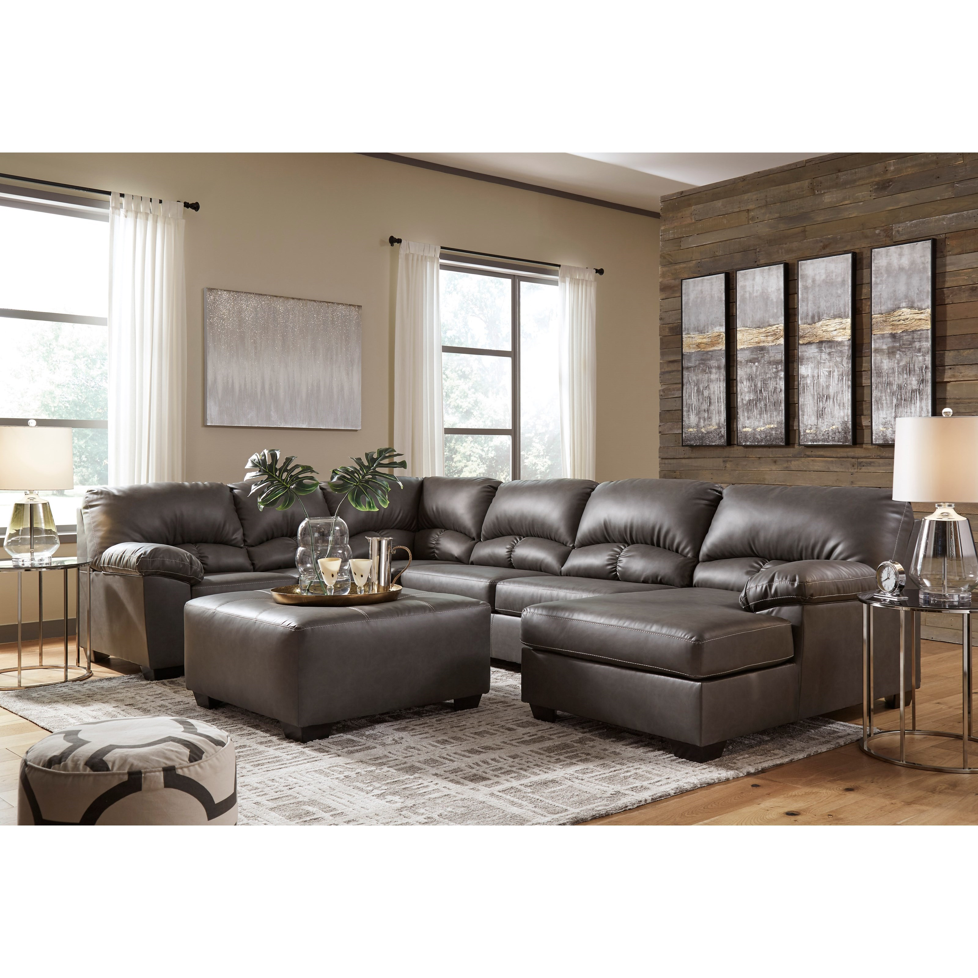 Aberton Living Room Group by Benchcraft at Catalog Outlet